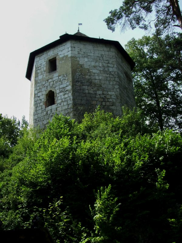 Wieża, zamek Ojców