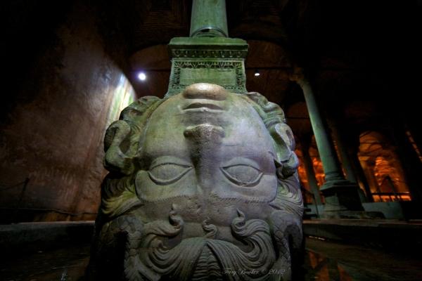 Jerebatan - Meduza, głowica kolumny