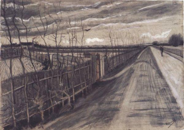 Wiejska droga, Vincent van Gogh