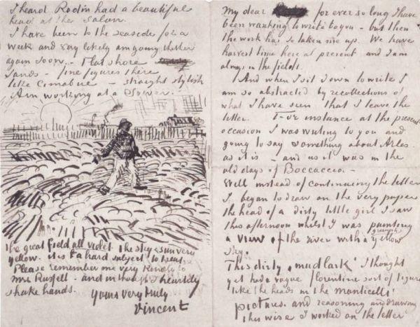 Vincent van Gogh - Siewca