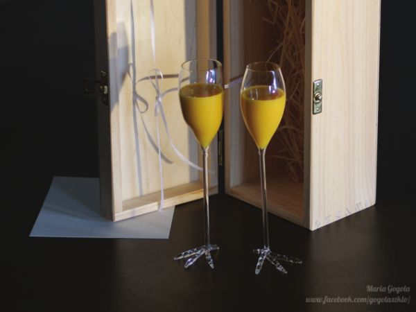 szklane kieliszki