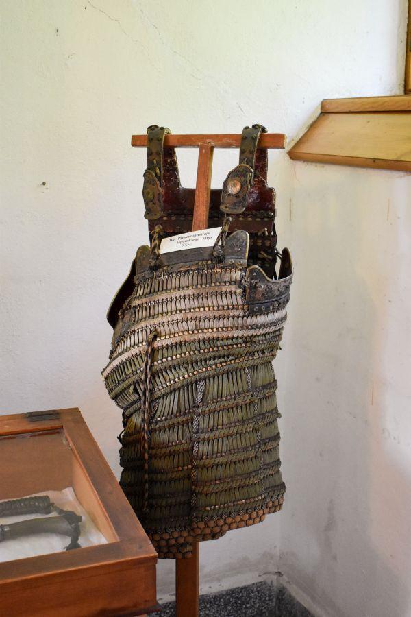 Kirys samurajski w muzeum w Szczyrzycu