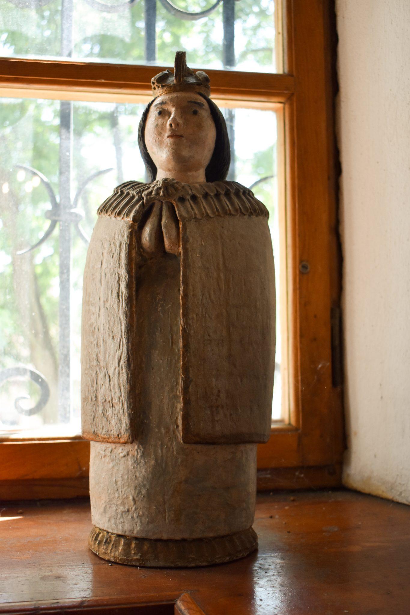 Matka Boska z muzeum, opactwo w Szczyrzycu